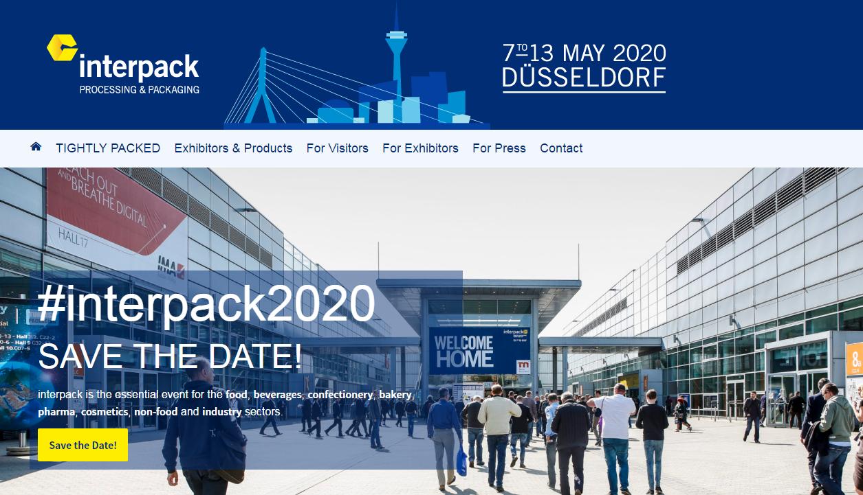 Deutschland Interpack 2020 Ausstellung
