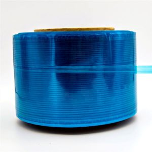 Blauer Film Courier Bag Dichtband