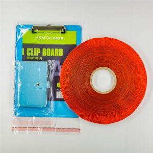 Kundenspezifisch bedrucktes Dichtband für Plastiktüten