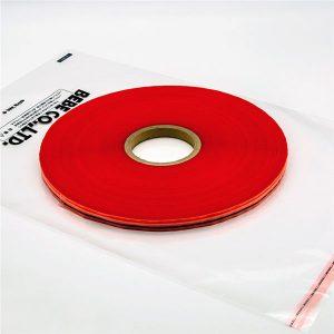 Wiederverschließbares Dichtband für Plastiktüten