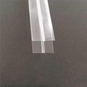 Transparenter Plastiktüte-Reißverschluss